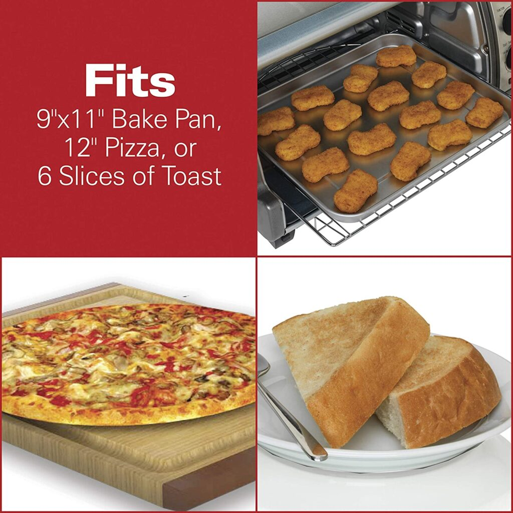 Foods That Fit In The Hamilton Beach Toaster Oven